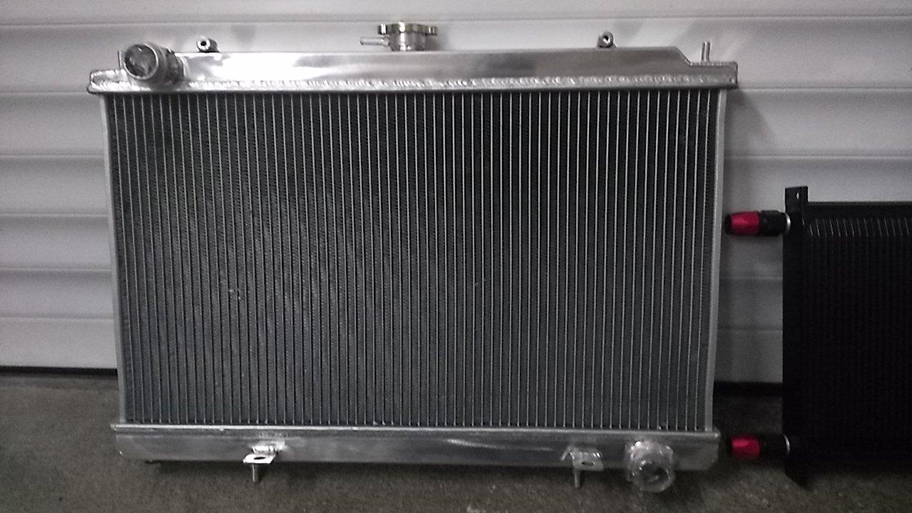Nouveau radiateur tout en Alu