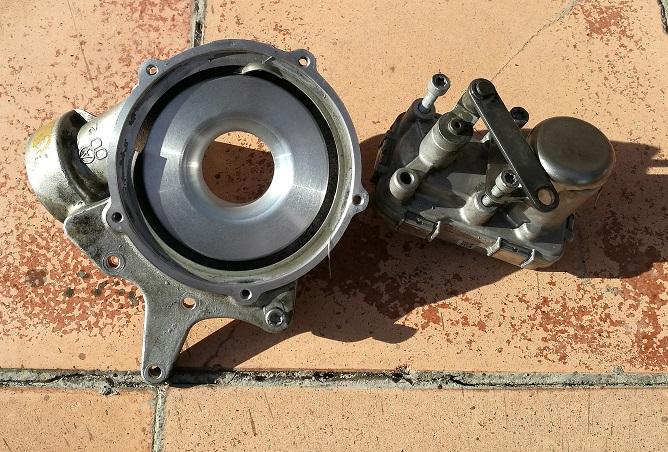 Réparation fuite huile au niveau du turbo W212 Moteur OM651 (Page 1