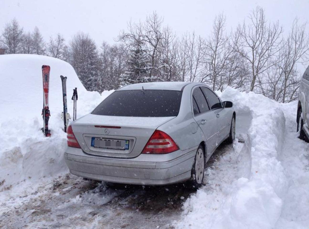 Classe C neige