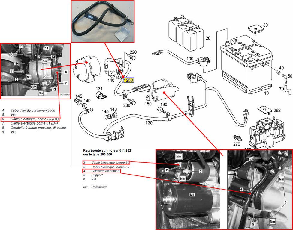 message alternateur batterie apr s remplacement alternateur page 2 classe c w203 forum. Black Bedroom Furniture Sets. Home Design Ideas