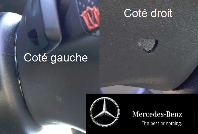 Mercedes best or nothing - rappel classe A poitiers
