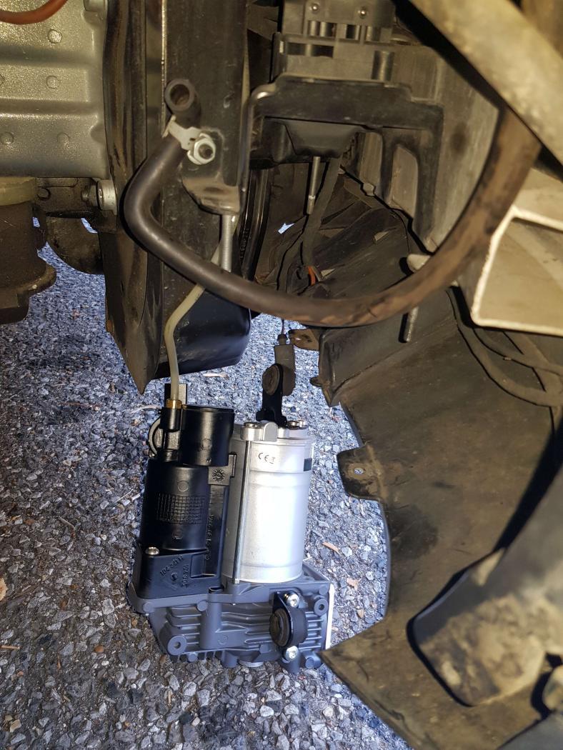 montage du compresseur