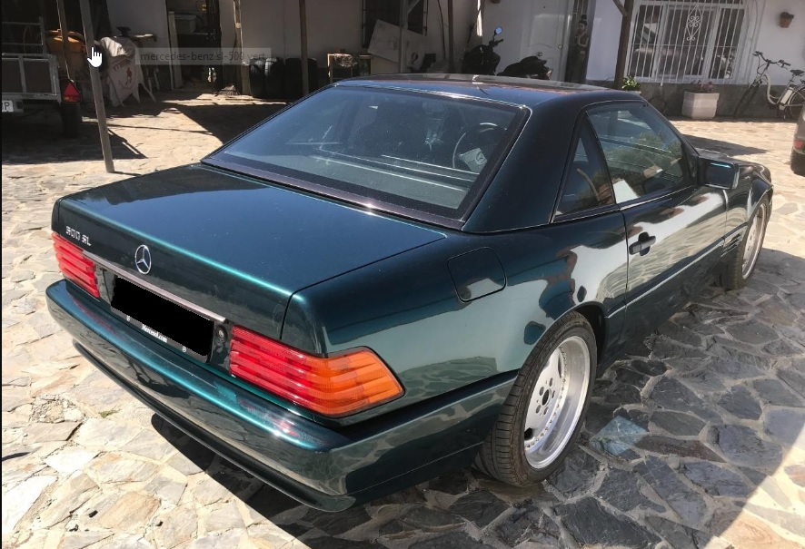500 SL, 1995, 183kkm
