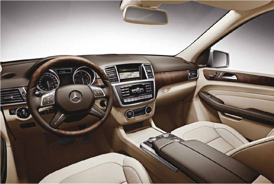 Nouvelle classe ml w166 design int rieur page 1 for Mercedes classe m interieur