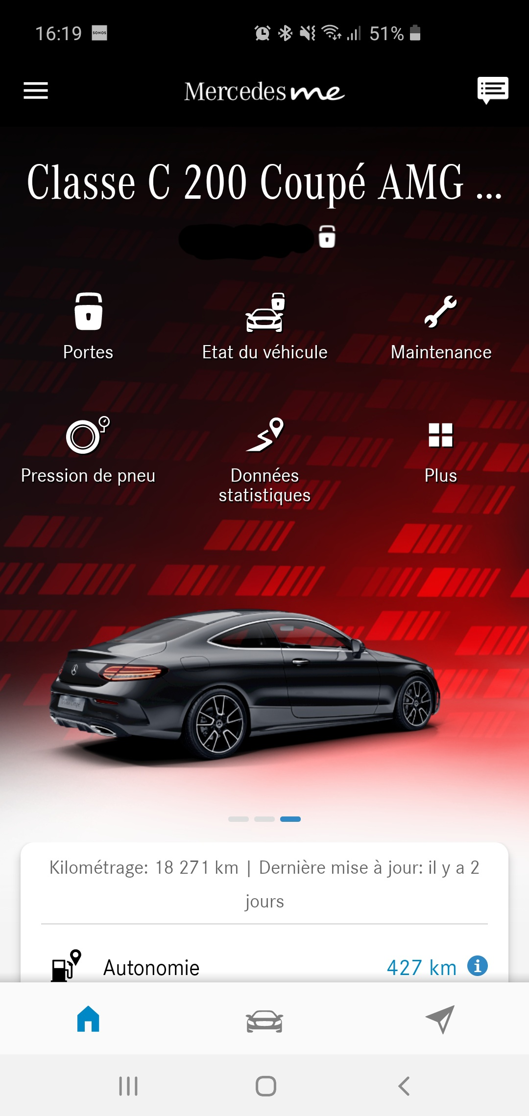 Mercedes Me Rouge.