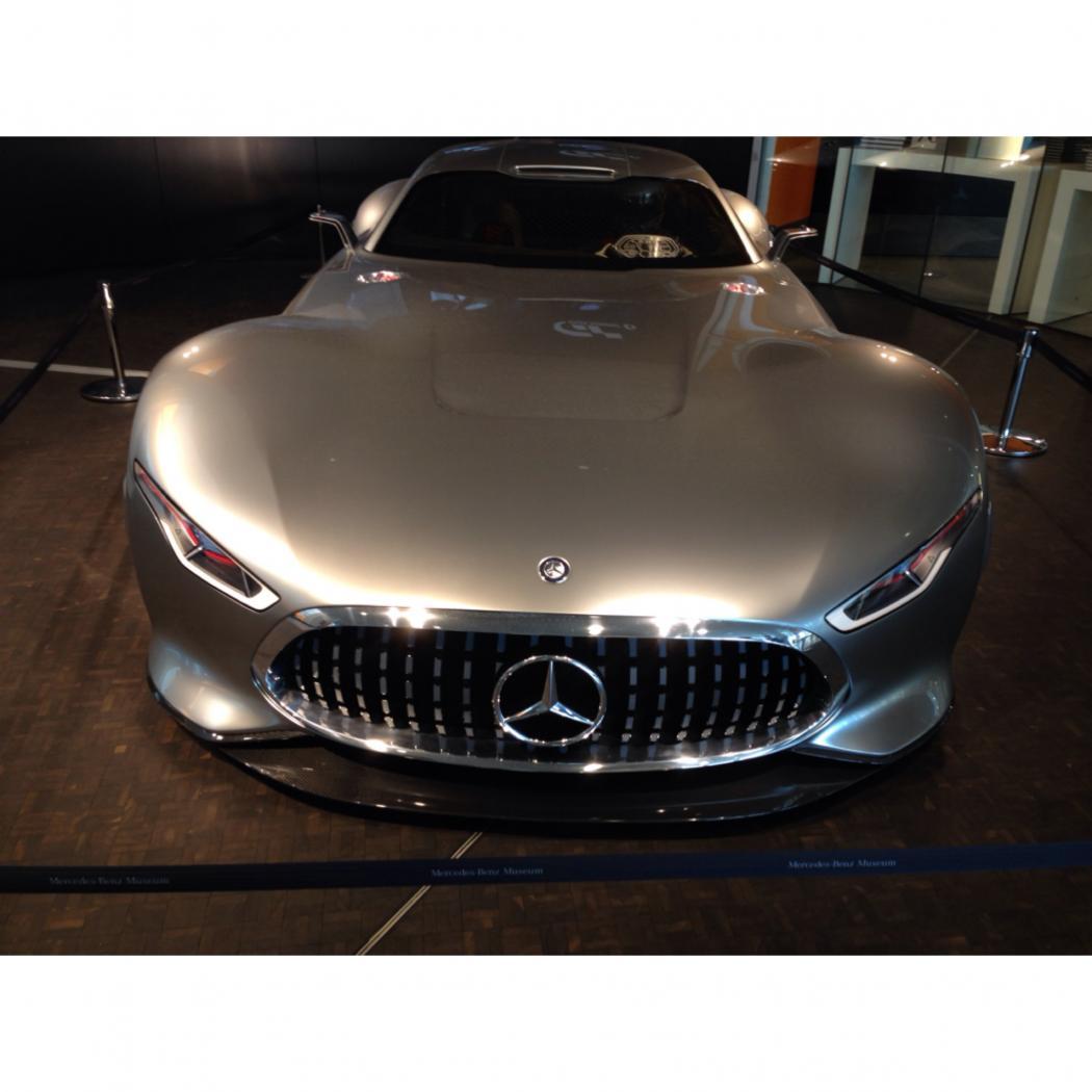 Qui a dit que les Mercedes c'était pour les vieux?