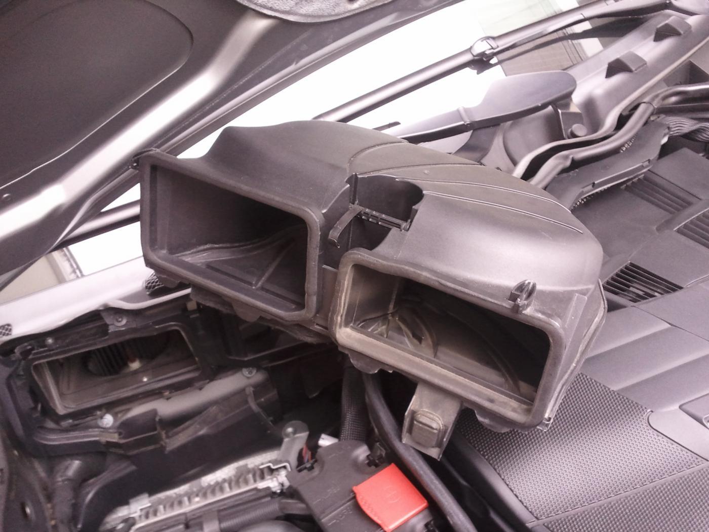 W204 320cdi Fiche De Proc 233 Dure Remplacement Filtre Air