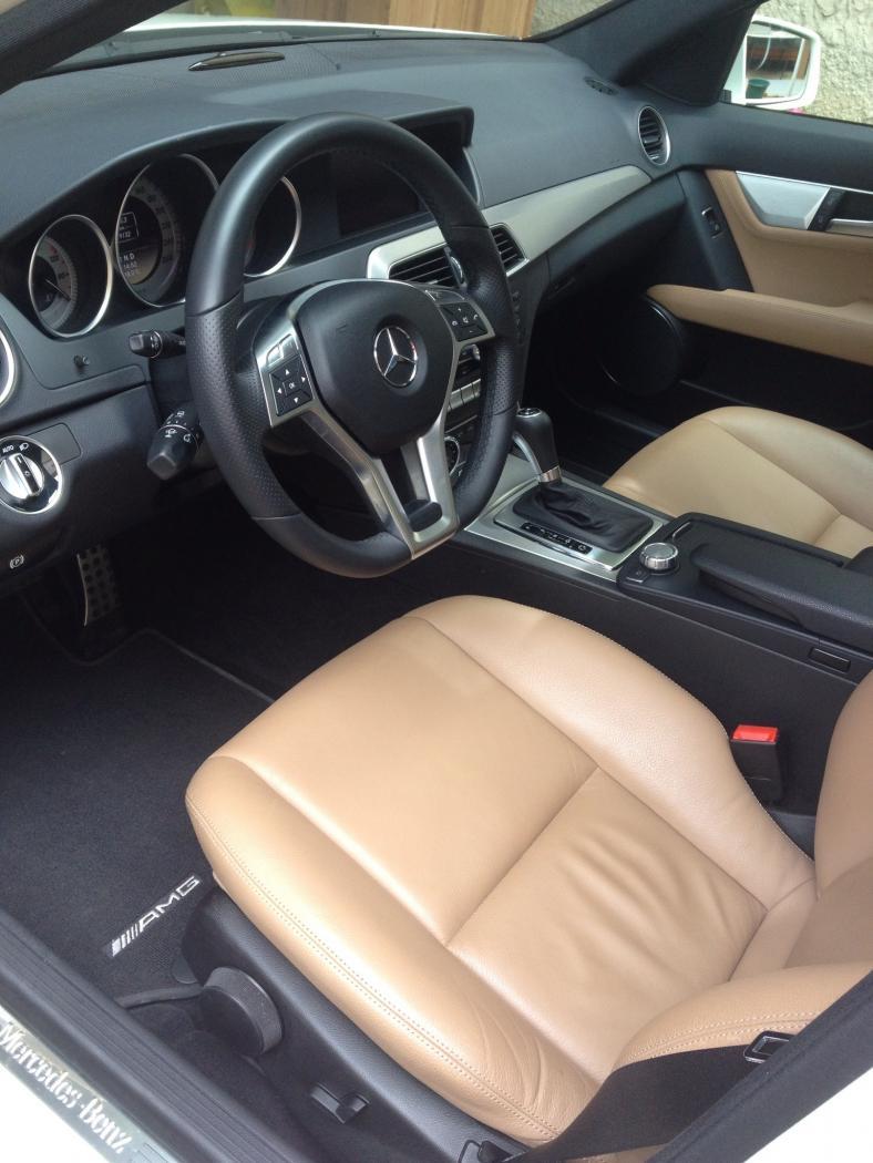 Benz intérieur