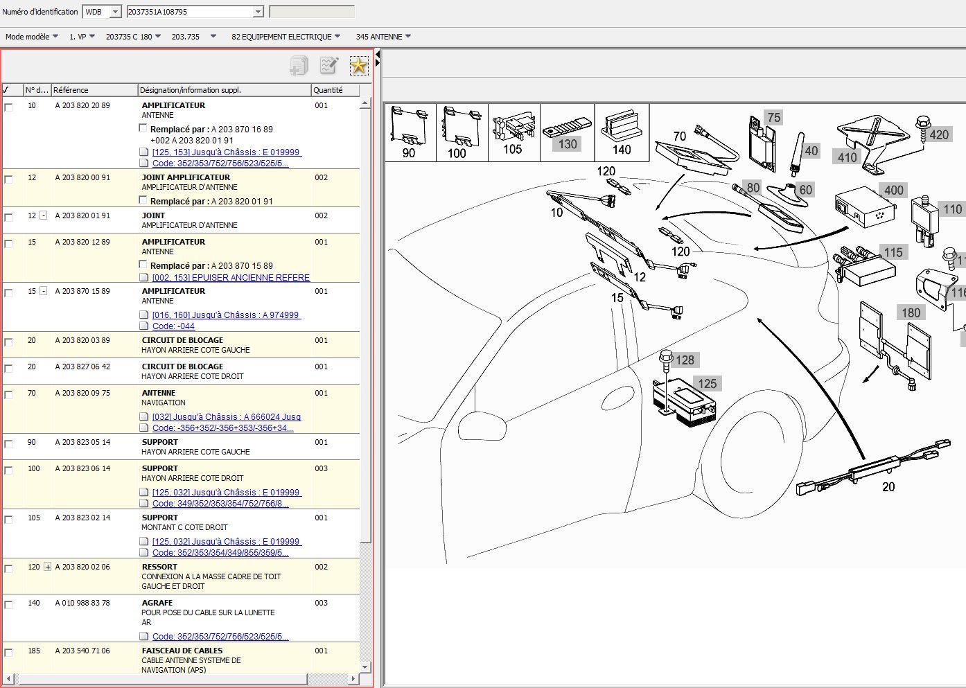 Probleme Antenne Fm Mercedes  Cdi