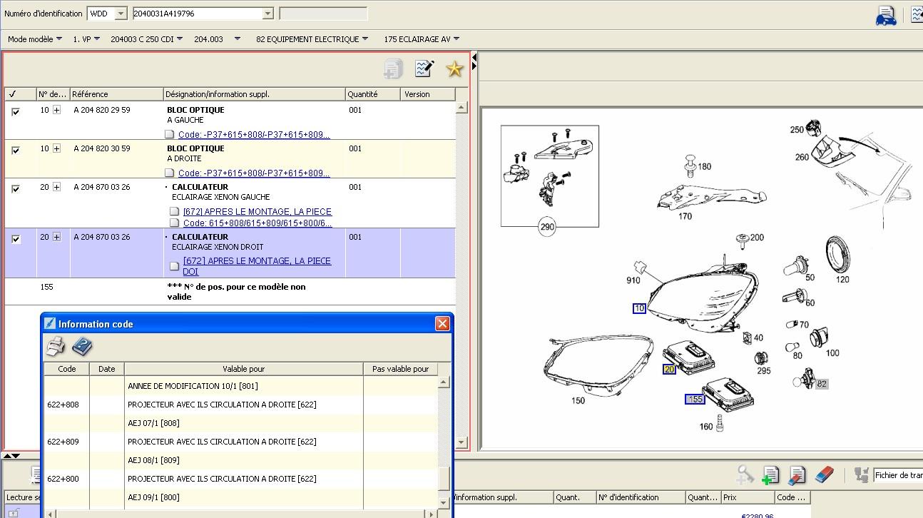 Iw204 problème intelligent Light System (Page 1) / Classe C