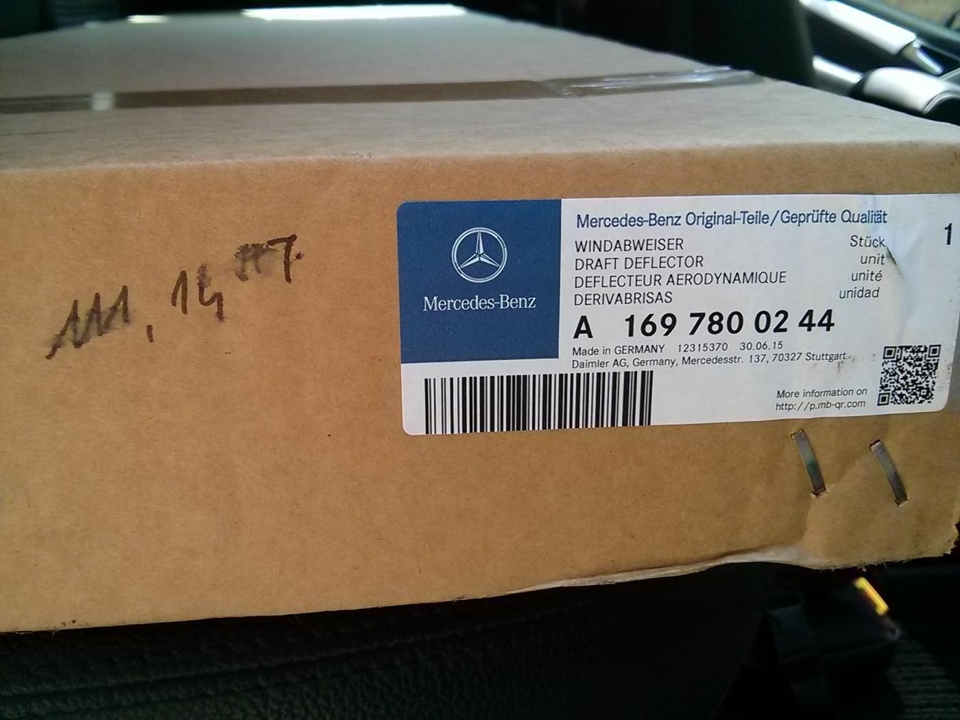 Reparation Toit Ouvrant Mercedes Classe B