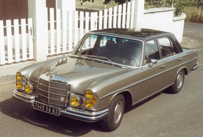 Mercedes 280SE de 1971