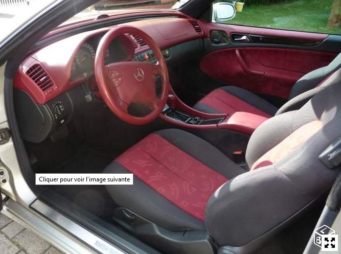 Interieur rouge page 1 classe clk w208 forum for Interieur paupiere inferieure rouge