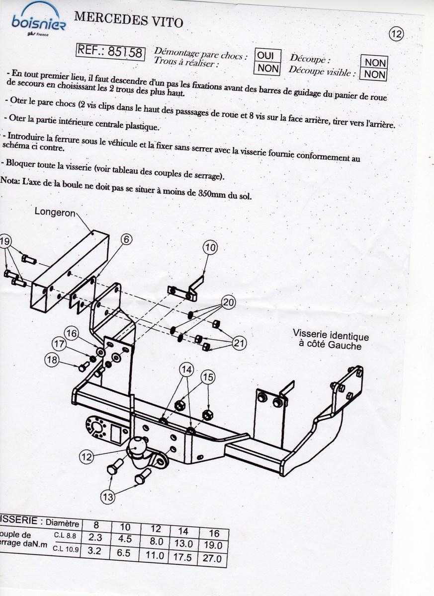 sch u00e9ma  u00e9lectrique attache remorque  page 1     vito  u0026 viano